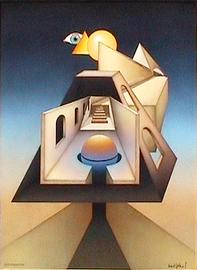 degeoformation, acryl auf leinwand, 60,5 cm x 80,5 cm