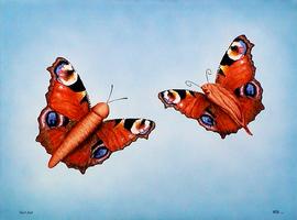 hochzeit, acryl auf leinwand, 80 cm x 60 cm