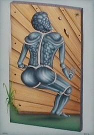 android, acryl auf leinwand,  50 cm x 70 cm