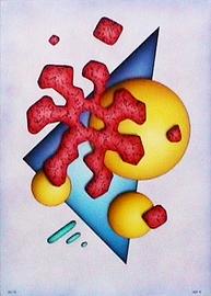 geo IV, acryl auf leinwand, 50 cm x 70 cm
