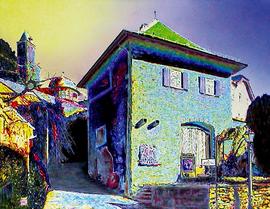 kronberg hellhof, acryl auf leinwand, 70 cm x 90 cm